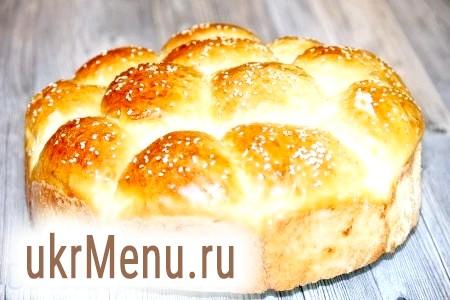 Білий хліб на кефірі в духовці