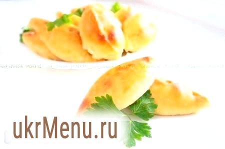 Бездріжджове тісто на кефірі для пиріжків. Пиріжки з сьомгою