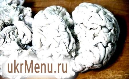 Страви з яловичих мізків