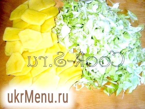 Фото - капуста і картопля