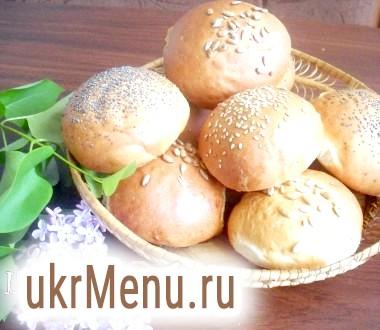 Булочки бутербродні