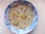 Cуп з сирків і сушених грибів рецепт приготування