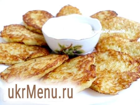 Фото - Апетитні, хрусткі картопляні деруни готові.