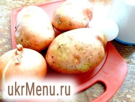 Фото - Інгредієнти для приготування картопляних дерунів