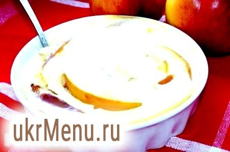Десерт з абрикосів