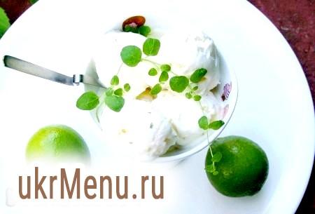 Домашнє фруктове морозиво