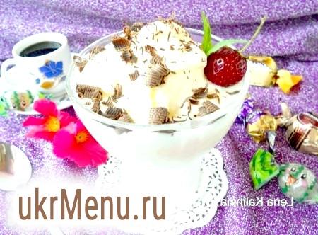 Домашнє молочне морозиво