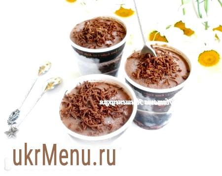Домашнє шоколадне морозиво