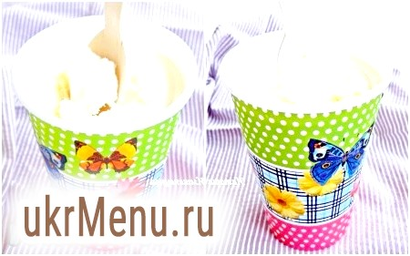 Домашнє вершкове морозиво