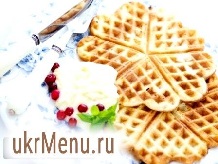 Домашні вафлі: готуємо трубочки в вафельниці (рецепт з фото)