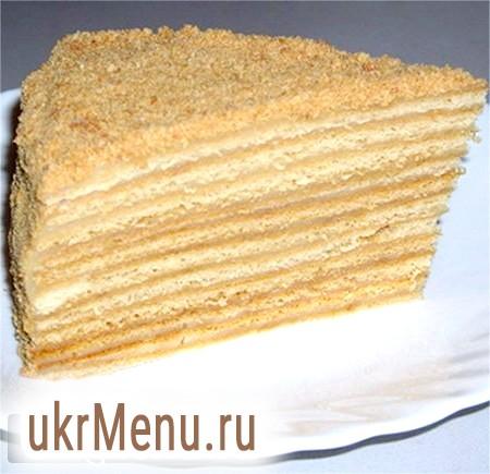 Домашній рецепт медового торта
