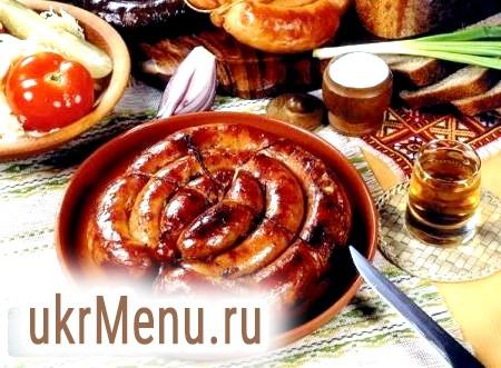 Домашня ковбаса - кращий рецепт (з фото)