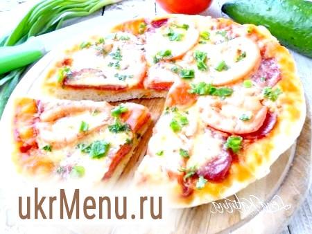 Дріжджова піца в мультиварці