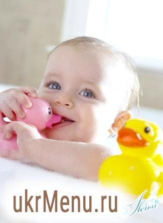 Якщо малюк боїться купатися