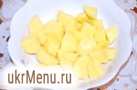 Фото - Картоплю почистити і нарізати також.