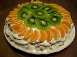 Фруктовий торт рецепт, смачні фруктові торти