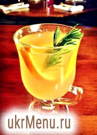 Гарячий безалкогольний коктейль на 8 березня, рецепт з фото
