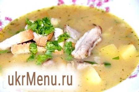 Гороховий суп на реберця