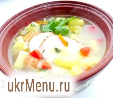Гороховий суп по-запорізьки