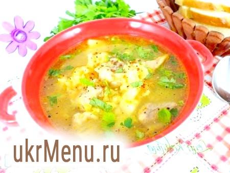 Гороховий суп зі свининою в мультиварці