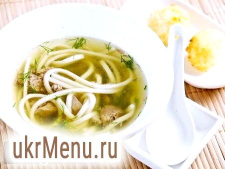 Готуємо класичний рецепт курячого супу з локшиною