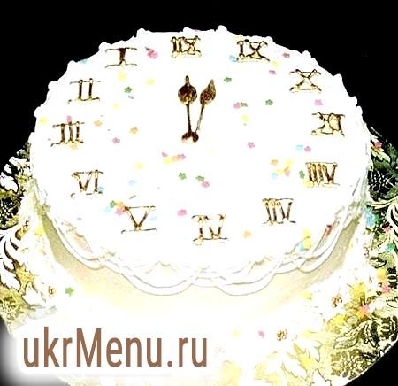 Готуємо святковий торт на новий рік