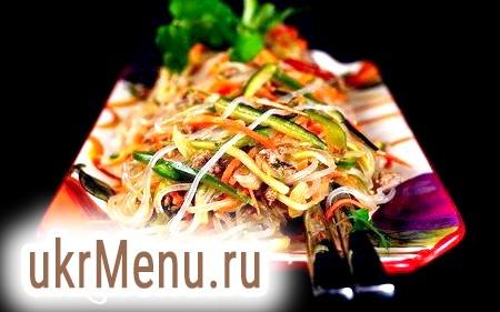 Готуємо салат з фунчозой