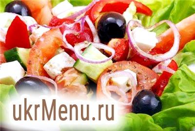 Грецький салат рецепт класичний