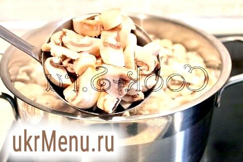 Фото - грибний суп