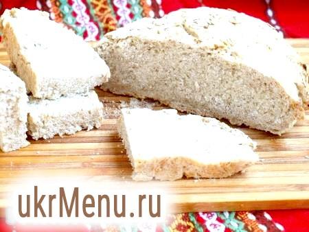 Хліб з вівсяних пластівців