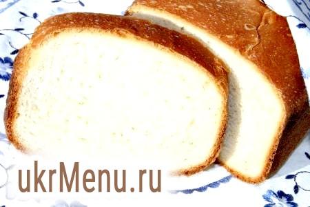 Хліб на молоці в хлібопічці