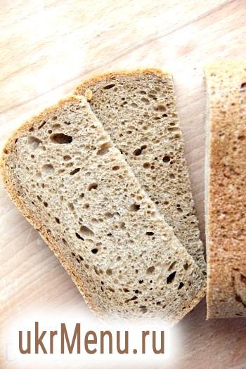 Хліб на пиві в хлібопічці