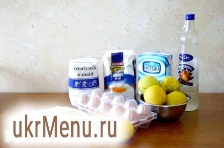 Фото - Інгредієнти для приготування італійського яблучного пирога з заварним кремом
