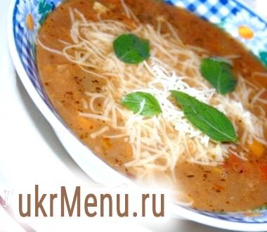 Італійський овочевий суп