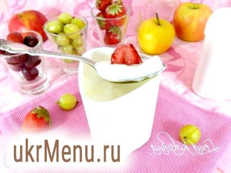 Йогурт із закваскою в мультиварці