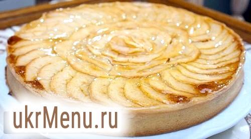 Як приготувати швидкий яблучний пиріг? рецепт з фото