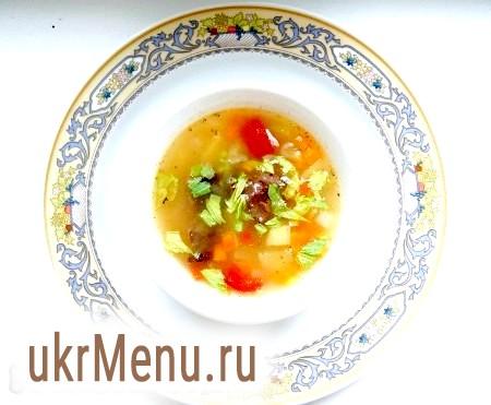 Як приготувати простий суп з м'ясом