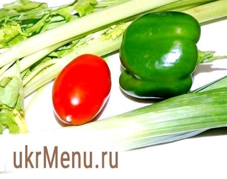 Фото - Приготувати овочі. Вимити й обсушити.