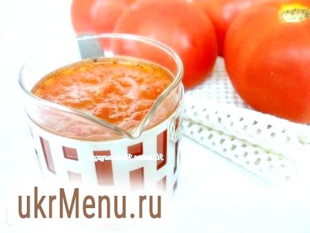 Як приготувати томатний соус в домашніх умовах