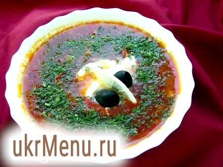 Як приготувати смачний суп солянка: рецепт класичний