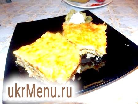 Фото - Смачна, ситна картопляна запіканка з сиром готова.