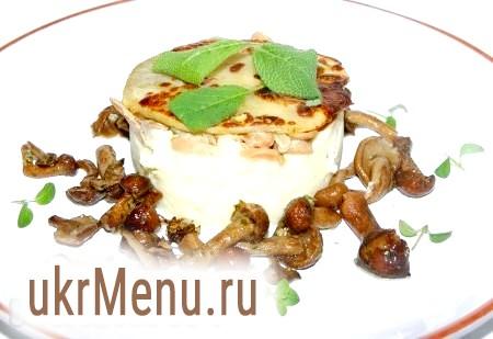 Картопляне пюре з грибами