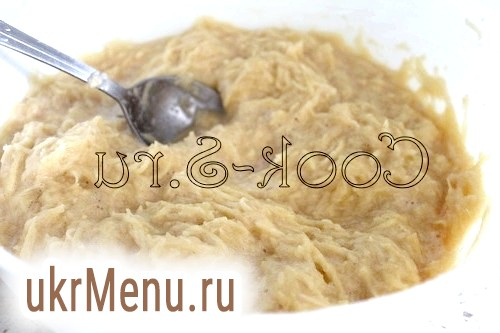 Фото - картопляні оладки - тісто
