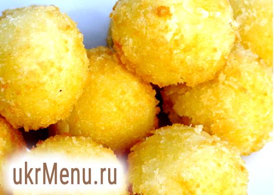 Картопляні кульки з заварного тіста