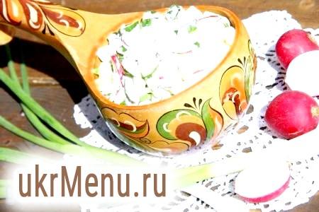 Картопляний салат з огірками
