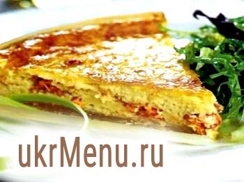 Кіш лорен - пиріг з копченим лососем