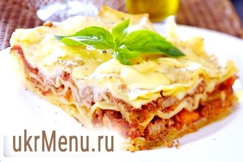 Класична лазіння - рецепт традіційної італійської кухні з фото и відео