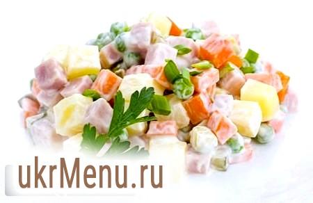 Класичний (радянський) рецепт салату «олів'є»