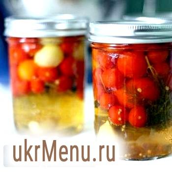 Консервовані помідори з лимонною кислотою