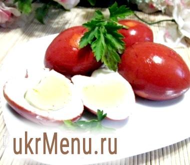 Копчені яйця